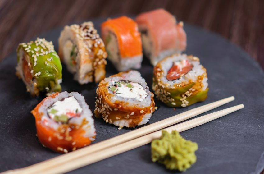 3x sushi in Brussel